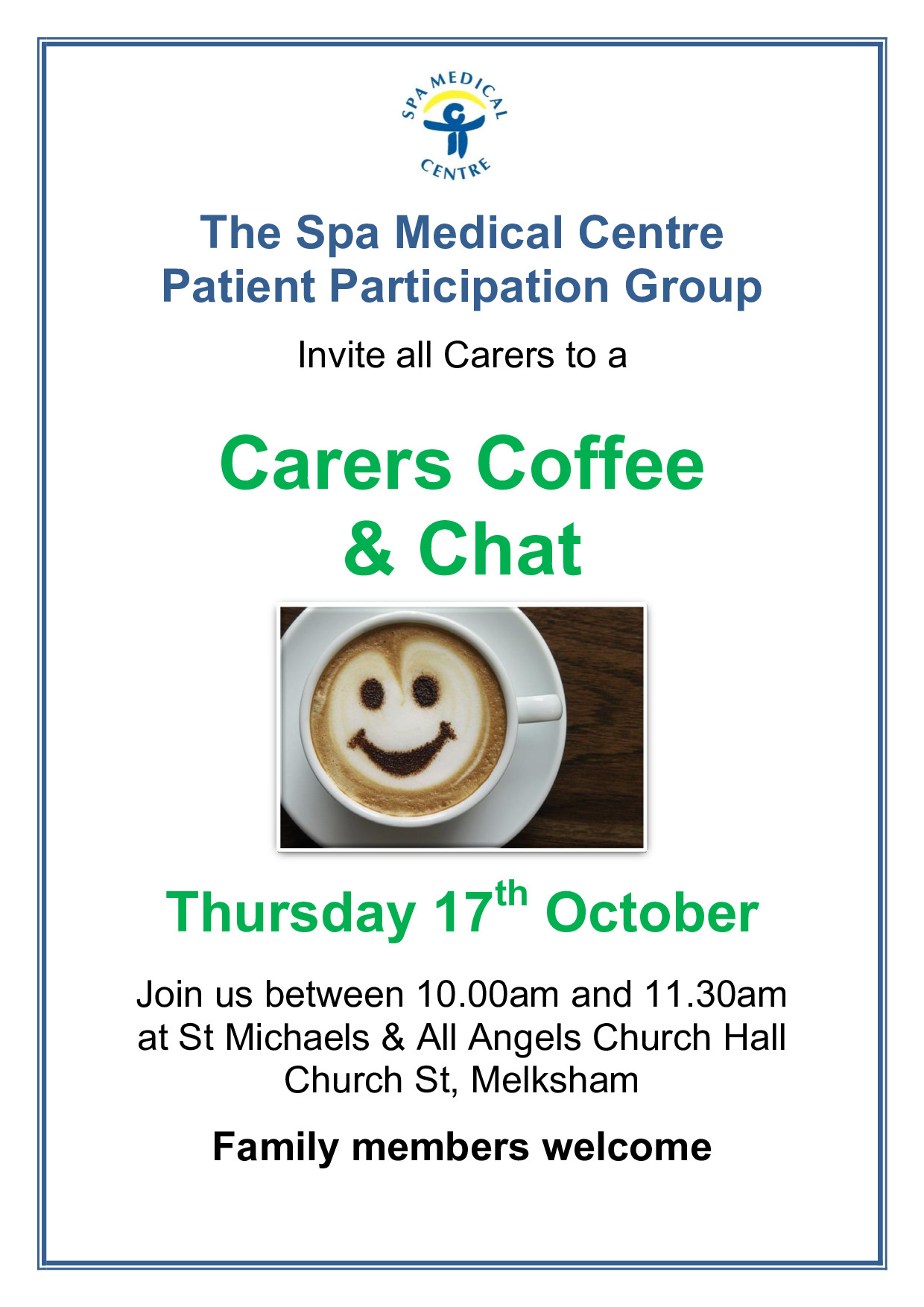 Spa PPG Coffee Morning