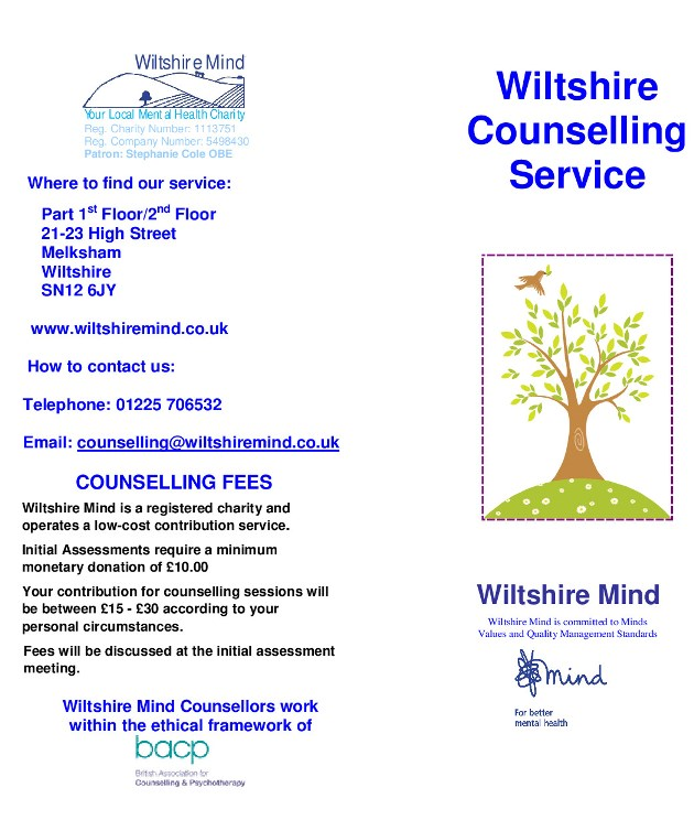 Wiltshire Counselling Service